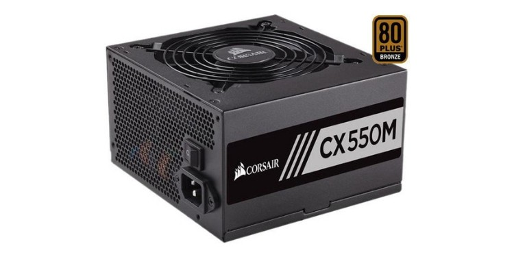 Corsair CXM 550W 80+ Bronze Semi-Modular PSU