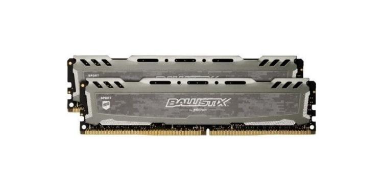 Crucial Ballistix Sport LT 8GB DDR4-2666 RAM