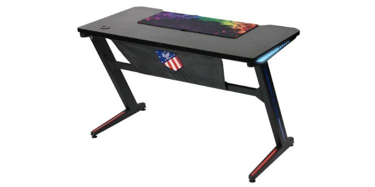 Kinsal Z-Shaped Gaming Desk