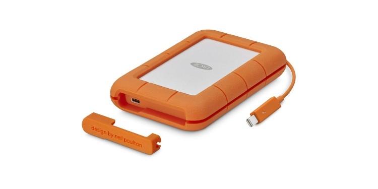 LaCie Rugged TB USB-C Portable Hard Drive