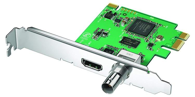 3. Blackmagic Design PCIe Capture Card