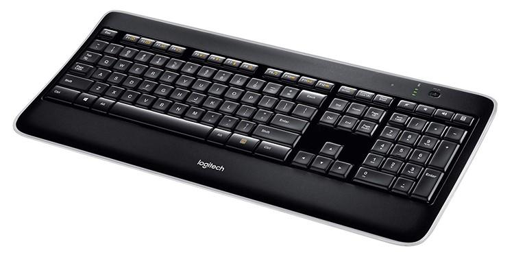 Logitech K800 Wireless Illuminated Keyboard