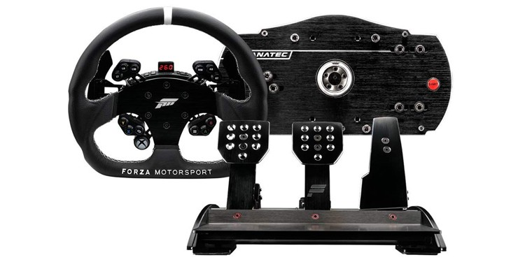 Fanatec Forza Motorsport Racing Wheel and Pedals